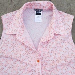 North Face Sleeveless Shirt